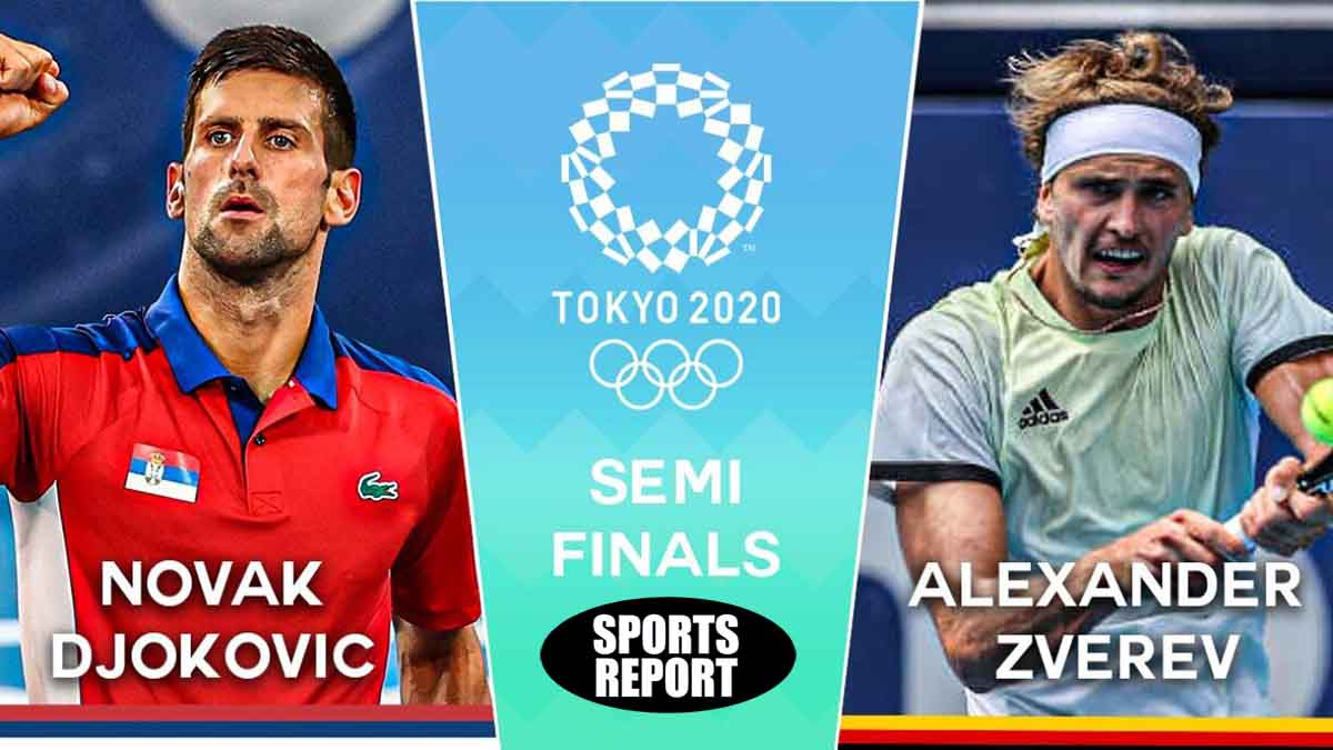 Novak Djokovic vs Alexander Zverev in Olympic tennis