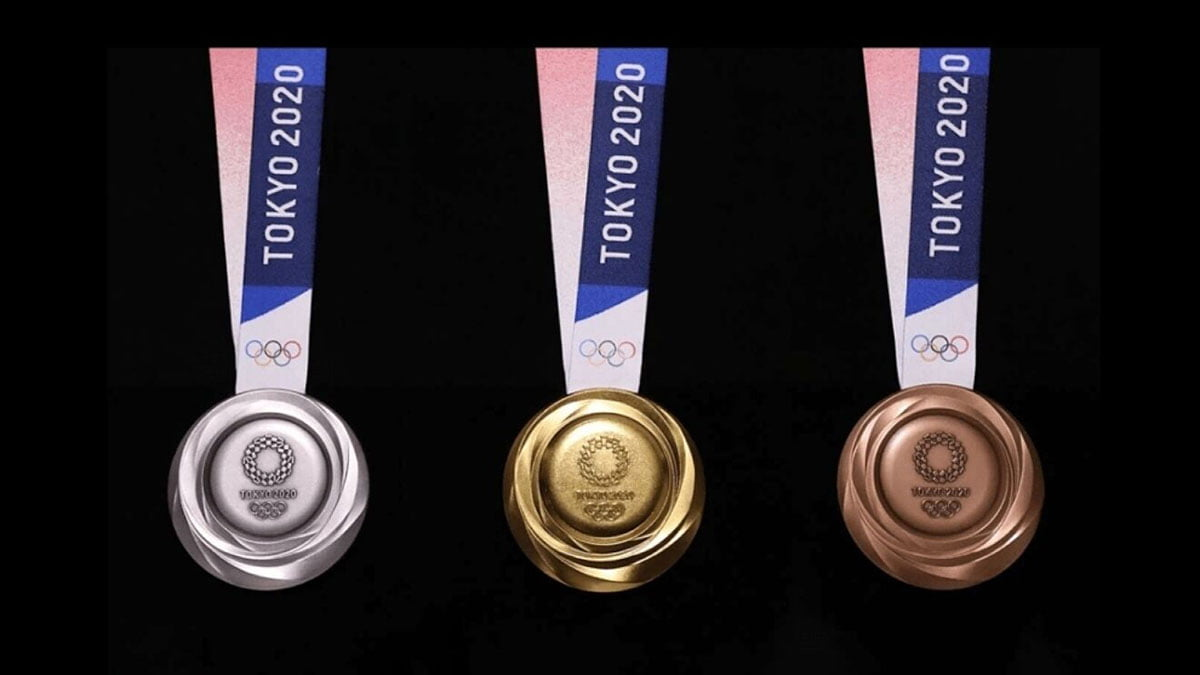 Olympic 2021 Medal Table