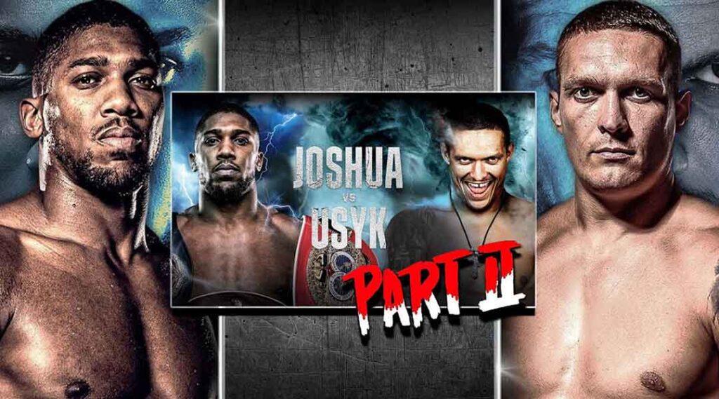 Anthony Joshua vs Oleksandr Usyk rematch